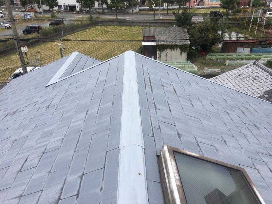 スレート屋根劣化状態